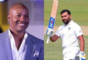 Brian Lara and Rohit Sharma