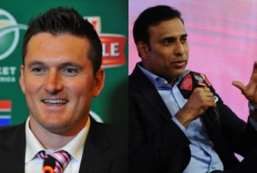 Graeme Smith and VVS Laxman