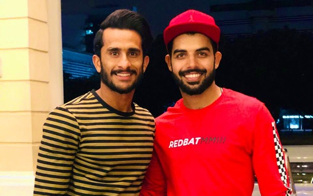 Hasan Ali and Shadab Khan