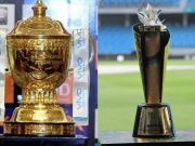 IPL Trophy and PSL trophy