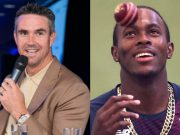 Kevin Pietersen and Jofra Archer