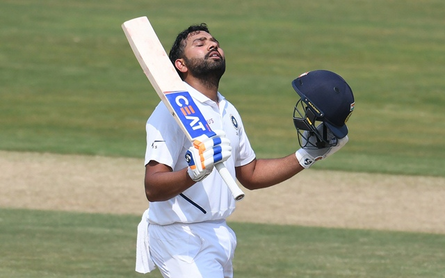 Rohit Sharma Test century