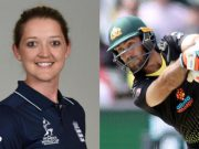 Sarah Taylor and Glenn Maxwell