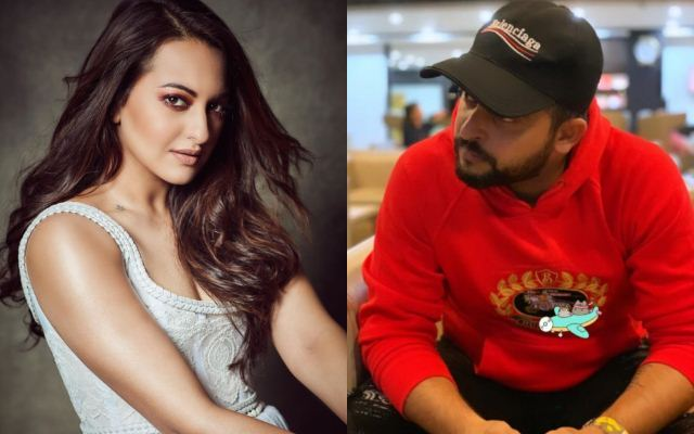 Sonakshi Sinha and Suresh Raina - CricTracker