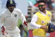 Wriddhiman Saha and Rishabh Pant
