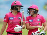 Alyssa Healy and Ellyse Perry