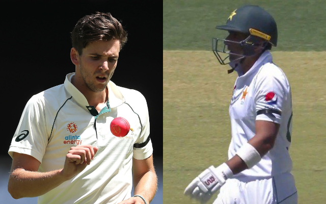 Australia and Pakistan players wearing black armbands