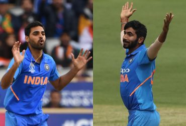 Bhuvneshwar Kumar and Jasprit Bumrah