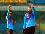 Bangladesh's practice session