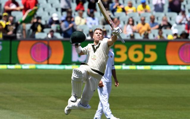 Australia vs Pakistan: Warner shatters records in Adelaide