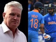 Dean Jones, Rohit Sharma and Virat Kohli