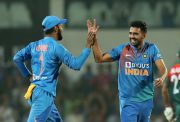 Deepak Chahar celebration