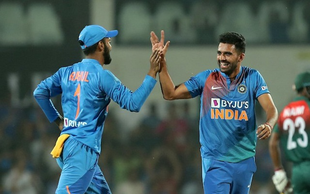 Unstoppable Deepak Chahar Again Takes Wickets In Three Successive Legal Deliveries