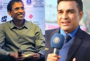 Harsha Bhogle and Sanjay Manjrekar