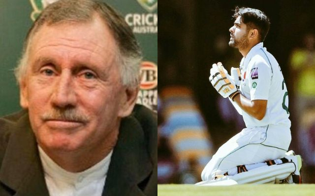 Ian Chappell and Babar Azam