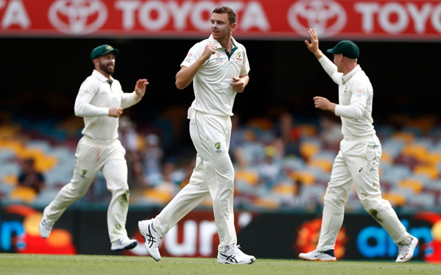 Image result for Josh Hazlewood impressive performance against Pak
