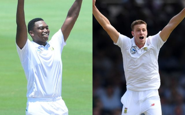 Lungi Ngidi and Morne Morkel