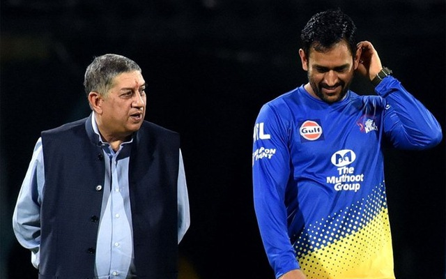 MS Dhoni takes his cricket so seriously: N Srinivasan