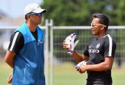 Rahul Dravid and Prithvi Shaw