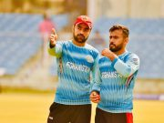 Rashid Khan and Zahir Khan