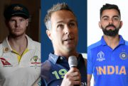 Steve Smith, Michael Vaughan and Virat Kohli