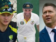 Steve Smith, Phillip Hughes & Michael Clarke