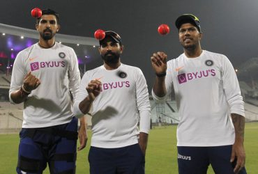 Umesh Yadav, Ishant Sharma and Mohammed Shami