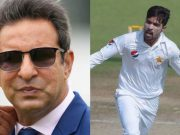 Wasim Akram and Mohammad Amir