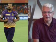 Yusuf Pathan and Joy Bhattacharjya