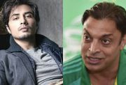 Ali Zafar and Shoaib Akhtar