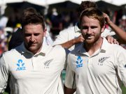 Brendon McCullum and Kane Williamson