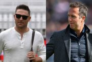 Brendon McCullum and Michael Vaughan