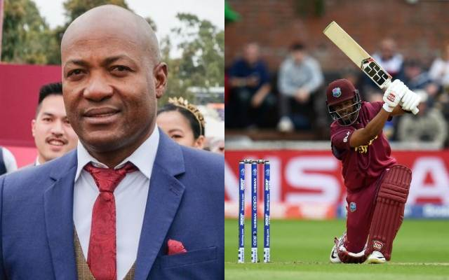 Brian Lara and Shai Hope