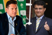 Graeme Smith and Sourav Ganguly