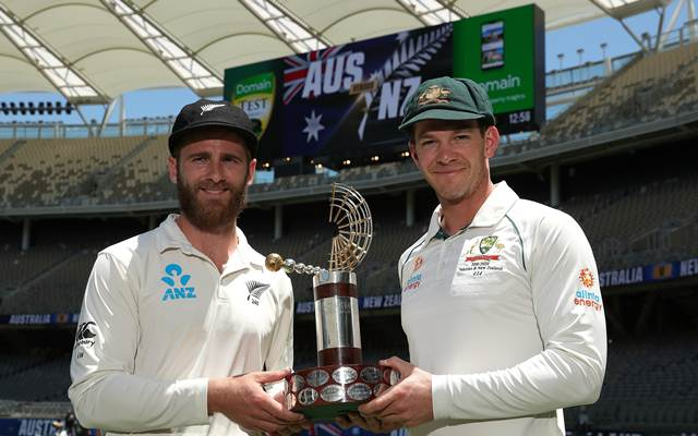 Kane Williamson and Tim Paine