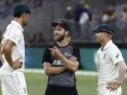 Mitchell Starc, Kane Williamson & David Warner