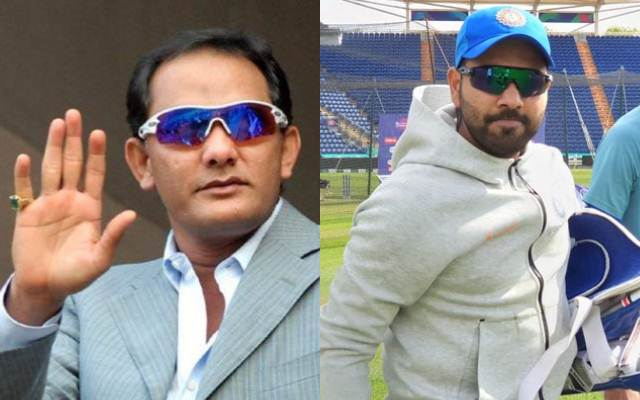 Mohammed Azharuddin and Rohit Sharma