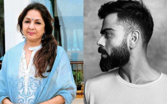 Neena Gupta Impressed With Virat Kohli S Chiseled Jawline