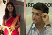 Sana Ganguly and Sourav Ganguly