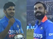 Shardul Thakur and Virat Kohli