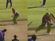 Wahab Riaz no ball