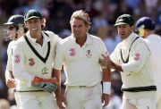 Adam Gilchrist, Shane Warne and Ricky Ponting