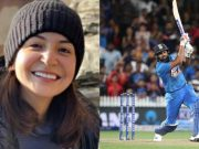 Anushka Sharma and Rohit Sharma
