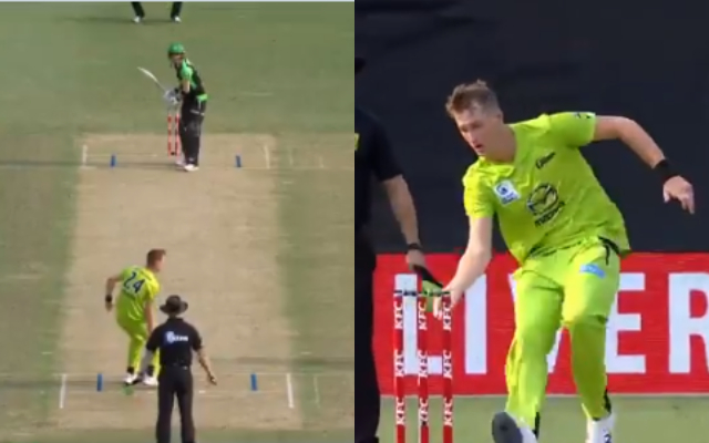 Chris Morris fakes mankading to surprise Marcus Stoinis in BBL 2019