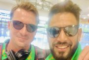 Dale Steyn and Haris Rauf