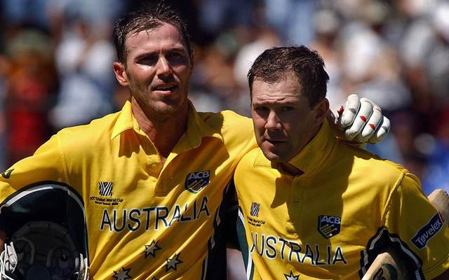 Damien Martyn and Ricky Ponting