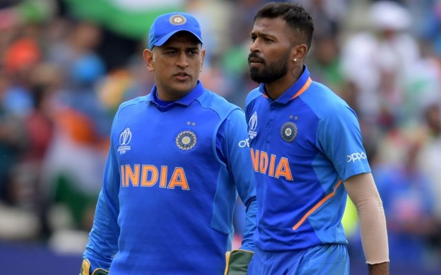 Hardik Pandya reveals the advice that MS Dhoni gave to him during the early  days of his international career
