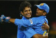 Irfan Pathan and Rahul Dravid