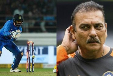 KL Rahul and Ravi Shastri