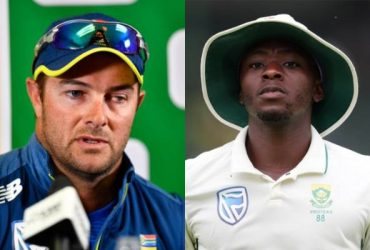 Mark Boucher and Kagiso Rabada